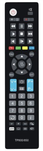 REPLACEMENT  TOPFIELD REMOTE CONTROL TP850 - TRF2400 TRF2460 TRF2470 TRF5300 TF-T6211HDPVR DVR PVR RECORDER - Remote Control Warehouse
