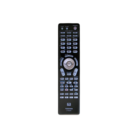 Toshiba Remote Control CT-90258 For TV/DVD/PVR/VCR/SAT