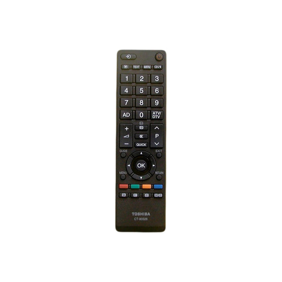 Toshiba Remote Control CT- 90326 For LCD RV700A RV600A RV550A TV - Remote Control Warehouse