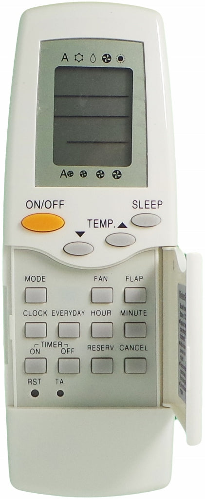 REPLACEMENT TOSHIBA Air Conditioner Remote Control  - RAS-18LKH-A /RAS-18LAH-A RAS-22LKH-A /RAS-22LAH-A