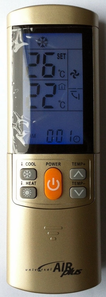 UNIVERSAL AIR CONDITIONER REMOTE CONTROL - CENTREX  AIR CON FULL FUNCTION