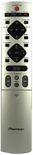 ORIGINAL PIONEER REMOTE CONTROL SUBSTITUTE XXD3076 - XV-DV323 XVDV323 HOME CINEMA SYSTEM - Remote Control Warehouse