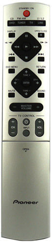 ORIGINAL PIONEER REMOTE CONTROL SUBSTITUTE XXD3076 - XV-DV424 XVDV424 HOME CINEMA SYSTEM - Remote Control Warehouse