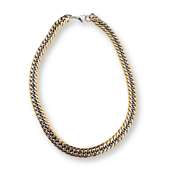 Mix chain thin which comes in Stainless Steel Gold & Silver Chain.