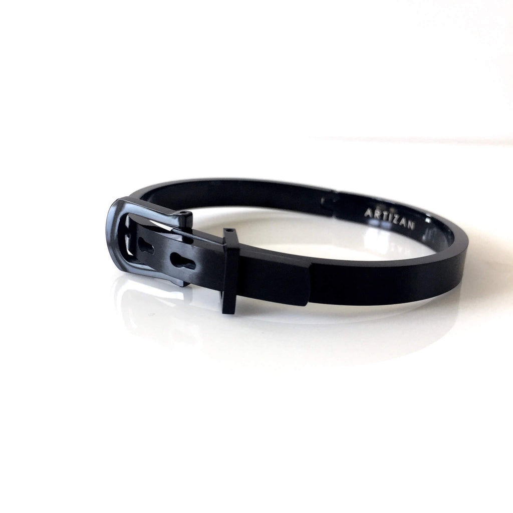 BLACK BELT BANGLE