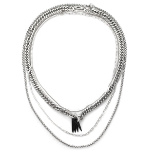 STRONG LAYERED NECKLACE SET