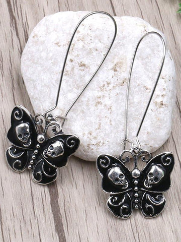 Butterfly Shape Alloy Earrings Accessories