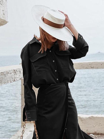Fashion Long Sleeves Blouse Shirt Tops