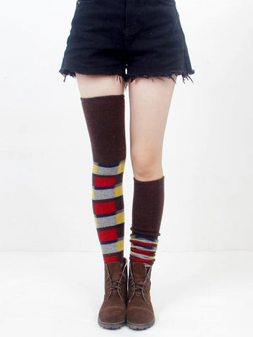 Bohemia Knitting Over Knee-high Stocking
