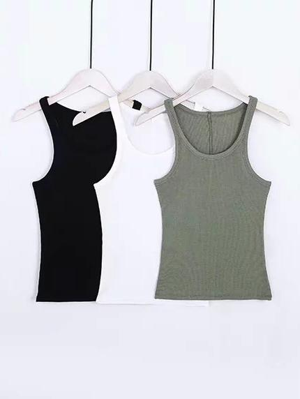 Fashion Solid Tank Tops