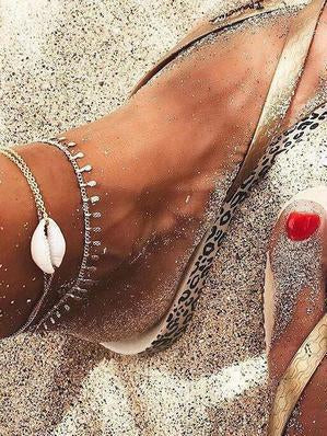 Beautiful Circle Shell Footchain Accessories