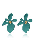 Fashion Flower Shape Alloy Earring Accessories