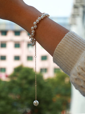 Special Shiny Beaded Arm Chain Accessories