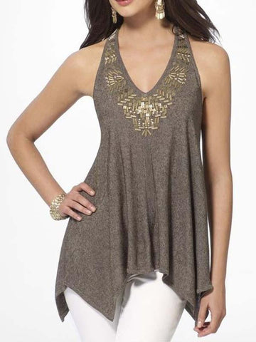 4 Colors Stylish Women's Sexy Halter Vests