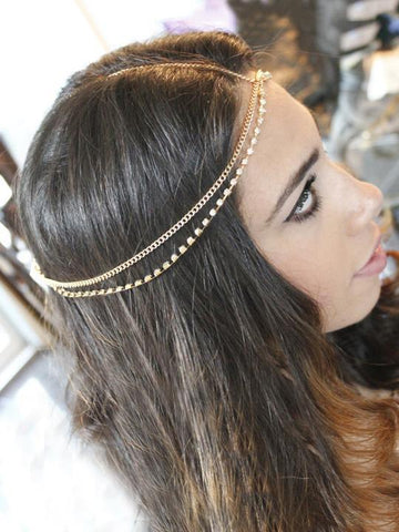 Bohemia Rhinestone Headwear Accessories