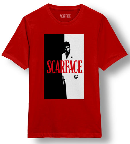 Scarface Split Red Tee