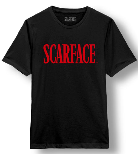 Scarface Logo Black Tee