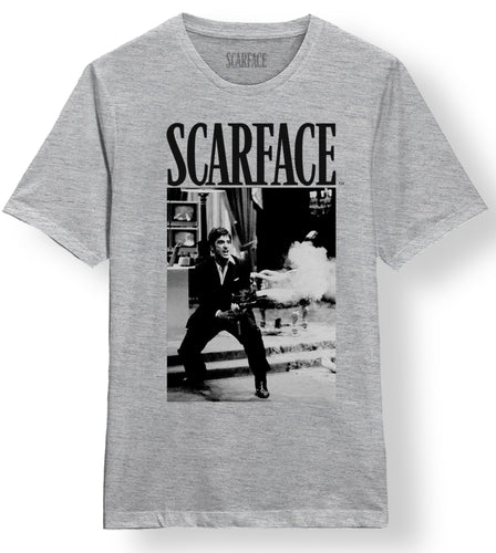Scarface Say Hello Grey Tee