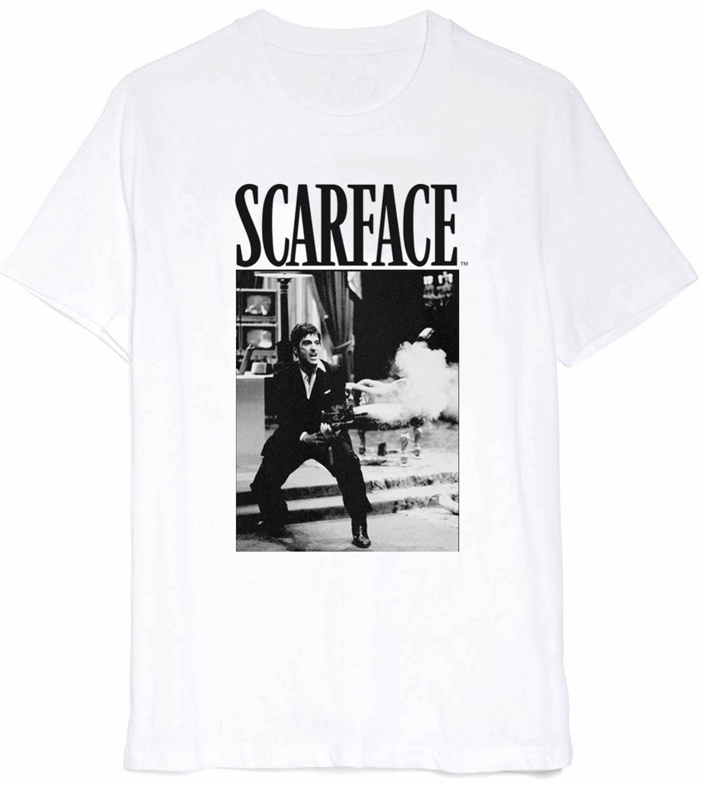 Scarface Say Hello White Tee