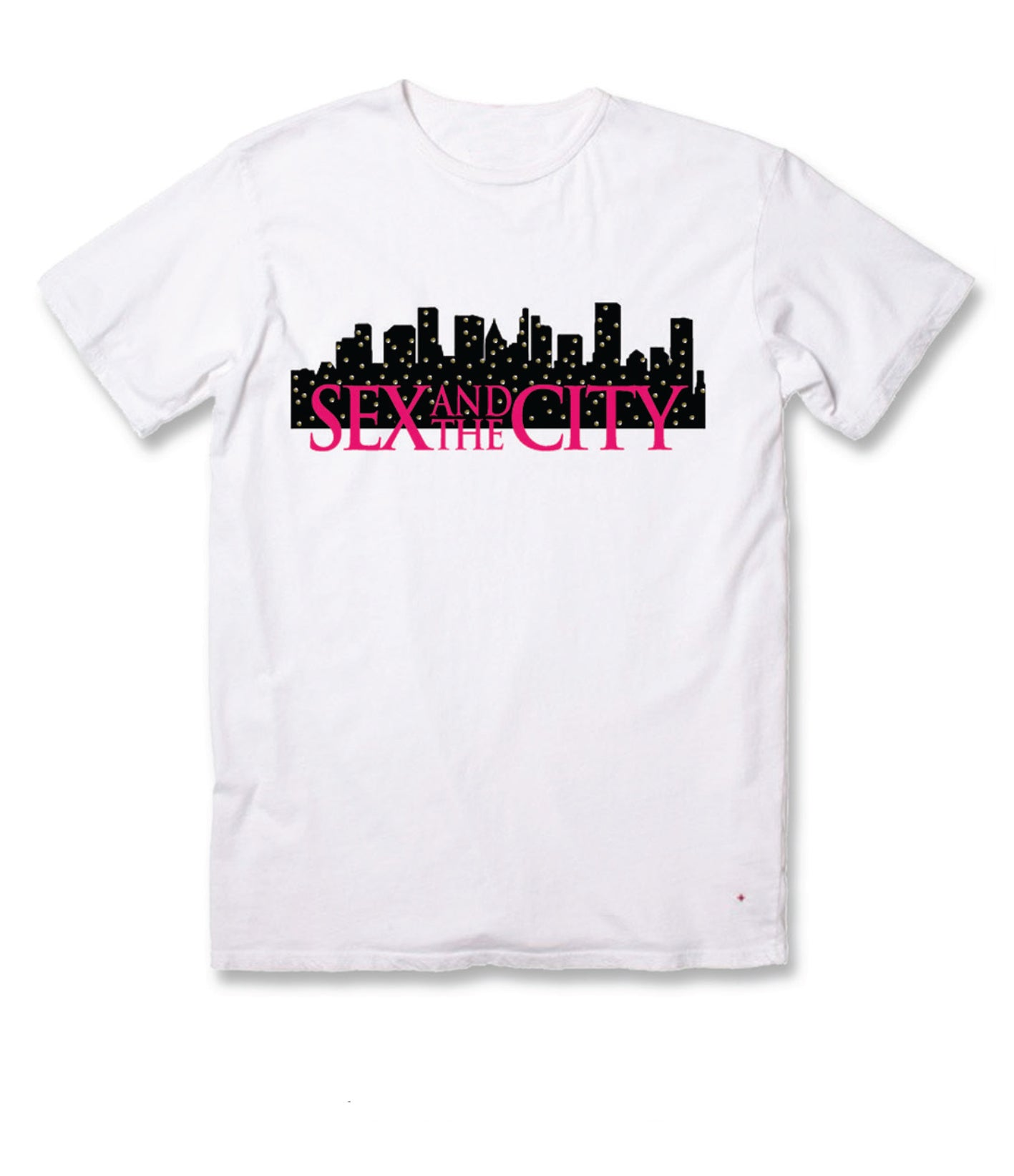 Sex And The City Skyline White Tee