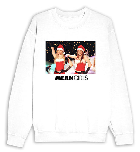 Mean Girls Christmas Talent Show White Sweat Shirt