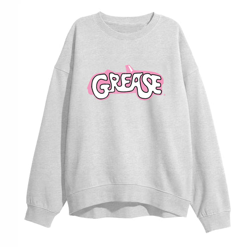 Grease Logo Grey Sweat Shirt
