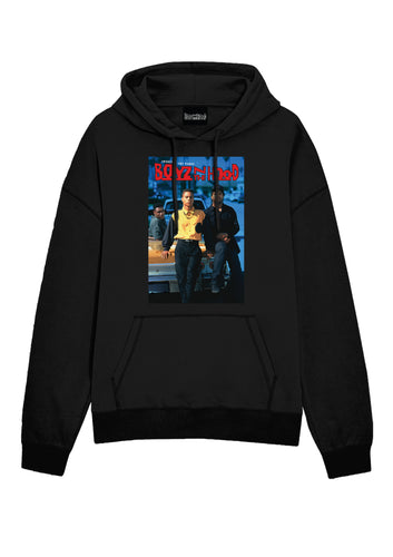 Boyz In The Hood Poster Black Hoodie