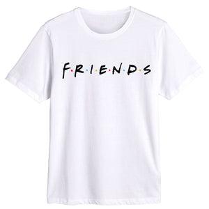 Friends White Tee
