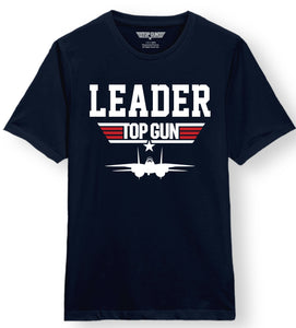 Top Gun Leader Navy Tee