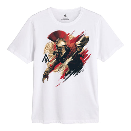 Assassins Creed Odyssey Dagger White T-shirt