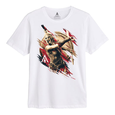 Assassins Creed Odyssey Character Fight T-shirt