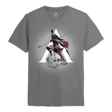 Assassins Creed Odyssey Charge Grey T-shirt