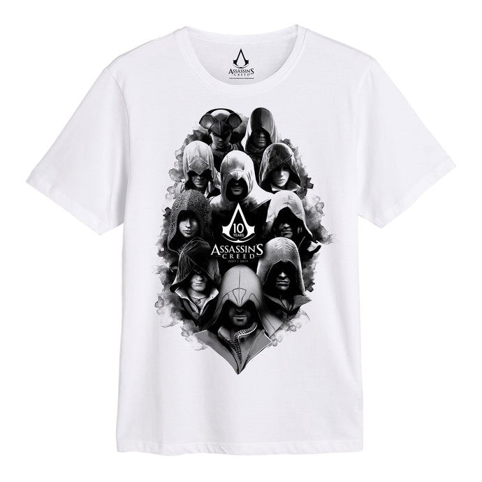 Assasins Creed Legacy 10th Character Group T-shirt