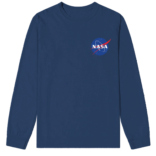 NASA Meatball Logo chest print Sweatshirt