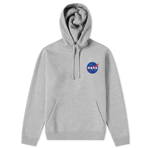 NASA Meatball chest Logo Hooded Sweatshirt