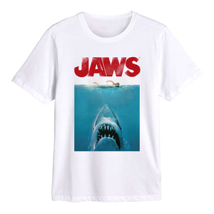 Jaws Women Swimming White Tee
