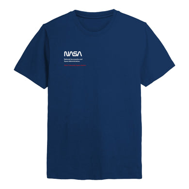 NASA Worm Logo chest print T-shirt