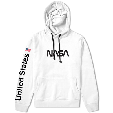 NASA Worm Logo Hooded Sweatshirt