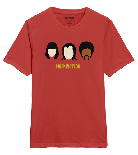 Pulp Fiction Icon Red Tee
