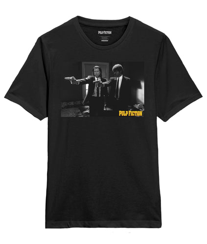 Pulp Fiction Vengence scene Black Tee