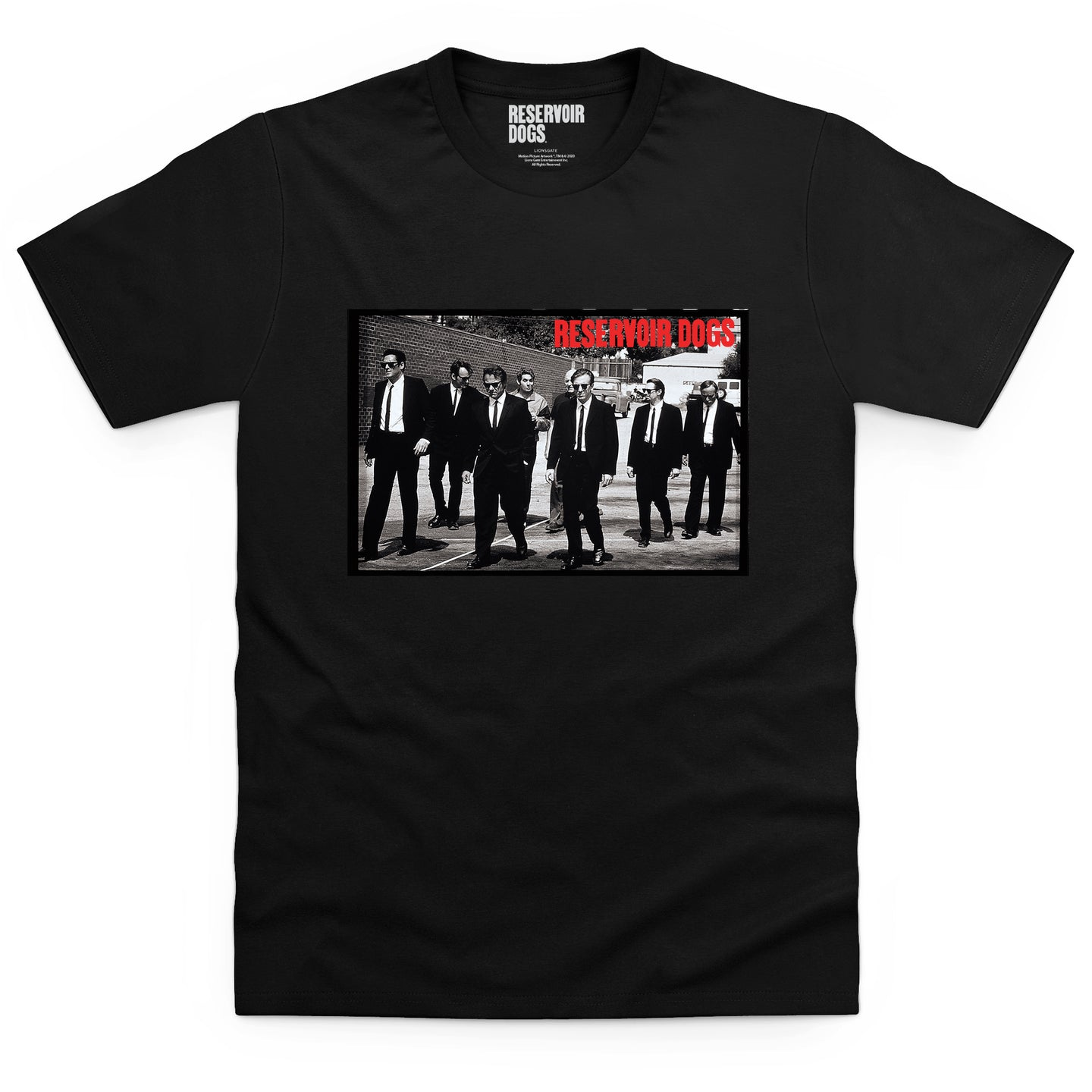 Reservoir Dogs Cast Black T-shirt