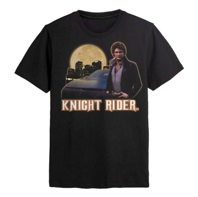 Knight Rider Hoff Skyline T-shirt