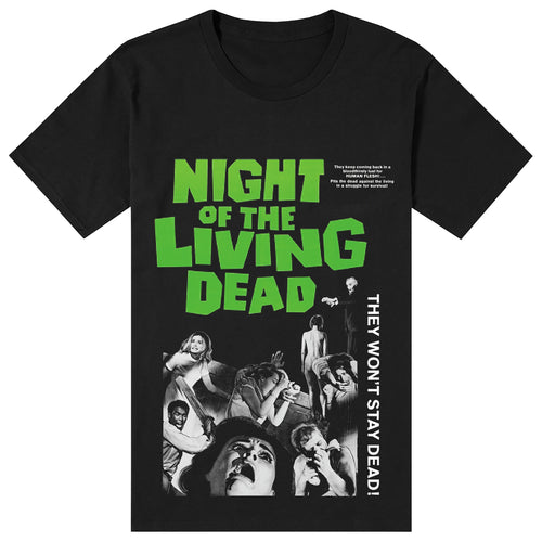 NIght of the living dead Black Tee