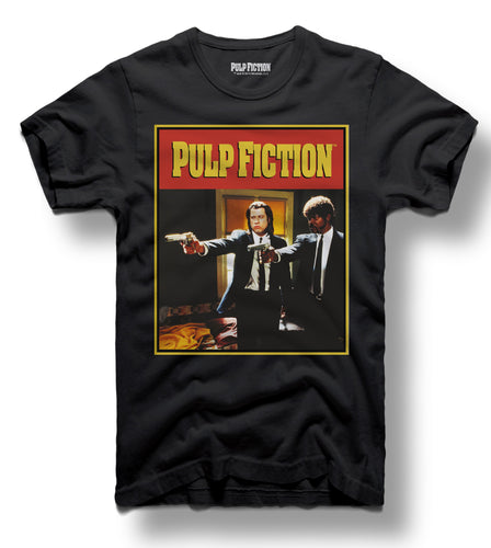 Pulp fiction Vengence Black Tee