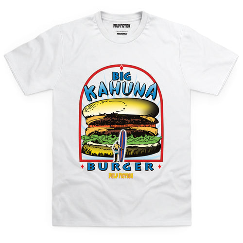 Pulp Fiction Big Kahuna White Tee