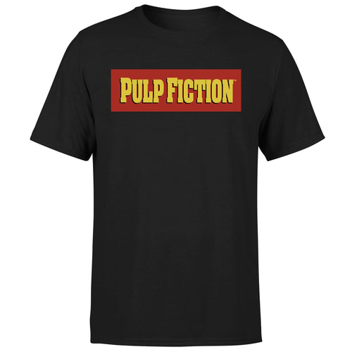 Pulp Fiction Logo Black Tee