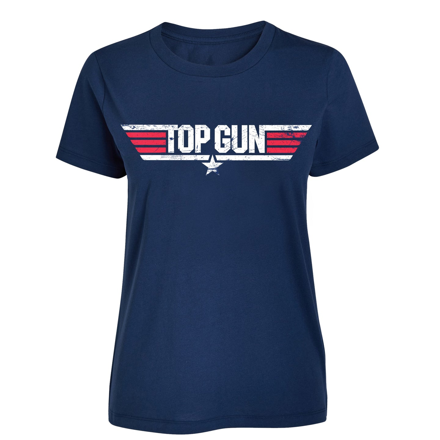 Top Gun Navy Womens Tee