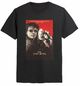 The Lost Boys Classic Poster Black Tee