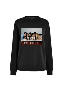 Friends Milkshake Black Sweat