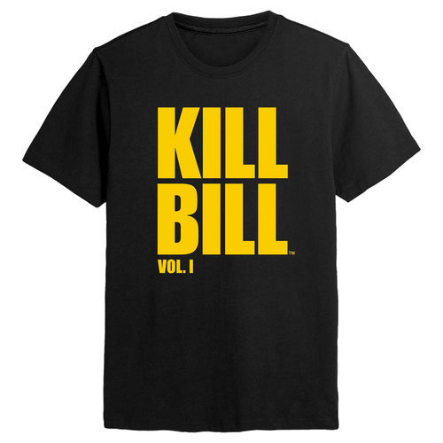 Kill Bill Logo Black Tee